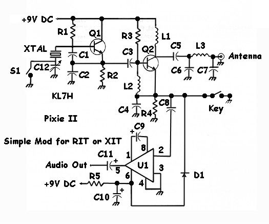 Fantastic Fm Crystal Radio Circuit Pictures To Pin On Pinterest Auto Wiring Database Gramgelartorg