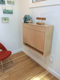 How to Build a Compact, Fold-Down Desk for Small Spaces ...