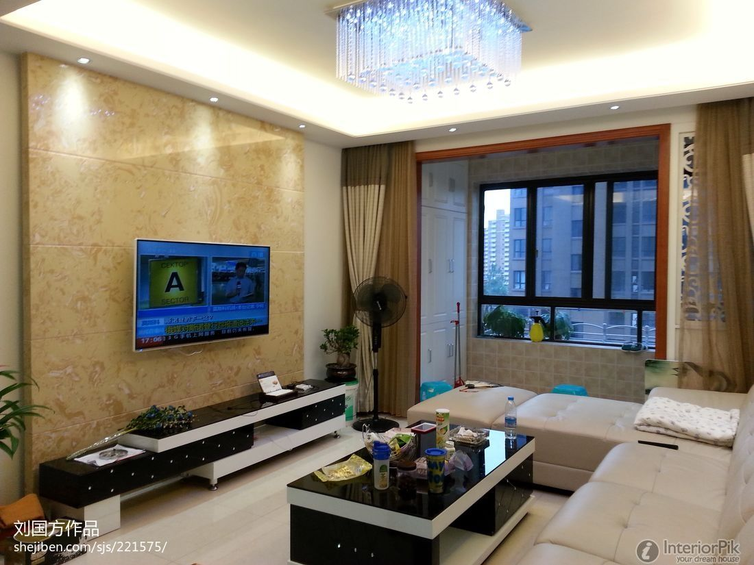 Living Room Tv Modern Style Living Room Tv Back Modern Interior Design