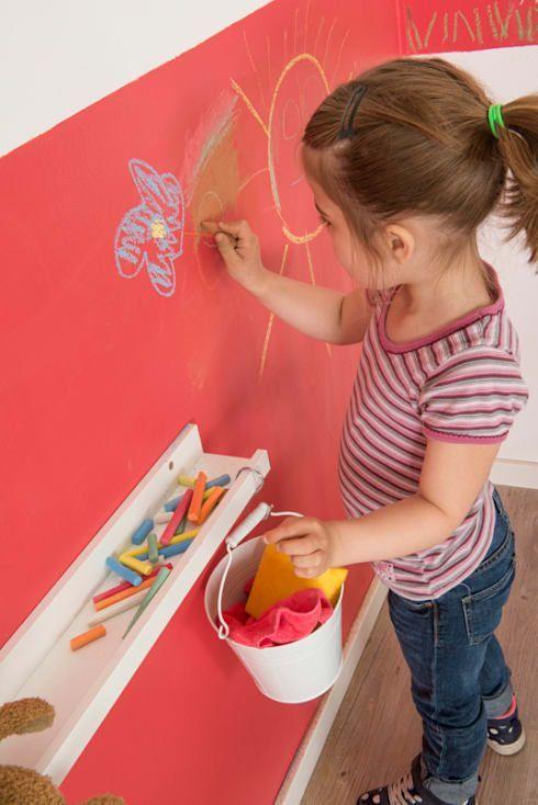 Ideen für kleine Kinderzimmer und Jugendzimmer Einrichtung und - 3d tapete kinderzimmer nice ideas