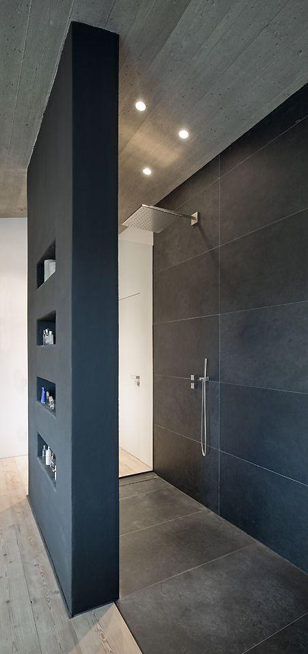 Wohnhaus Stallwang Offene Dusche Badezimmer \/ Bathroom   Grundriss  Badezimmer 9qm