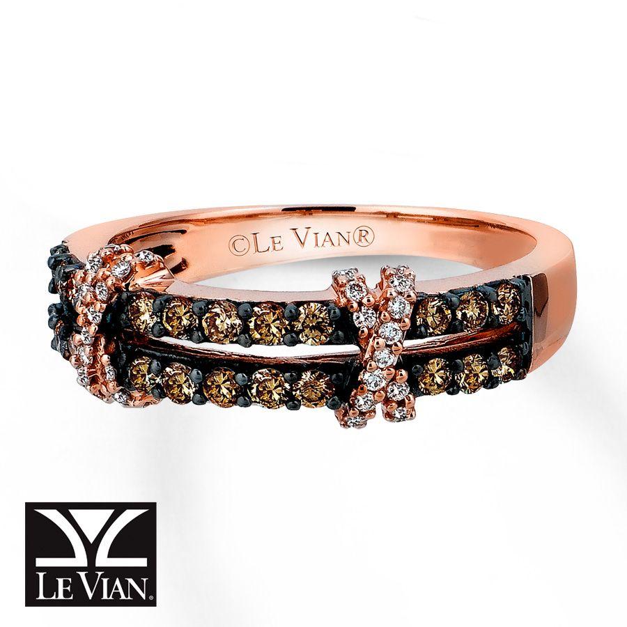 kays jewelry wedding rings chocolate diamonds Kay Chocolate Diamonds Ring 1 2 carat tw 14K Strawberry