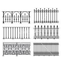 Railings and fences vector | Vector art | Pinterest ...