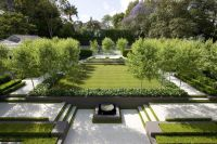 Well landscaped formal #French #garden with a modern feel ...