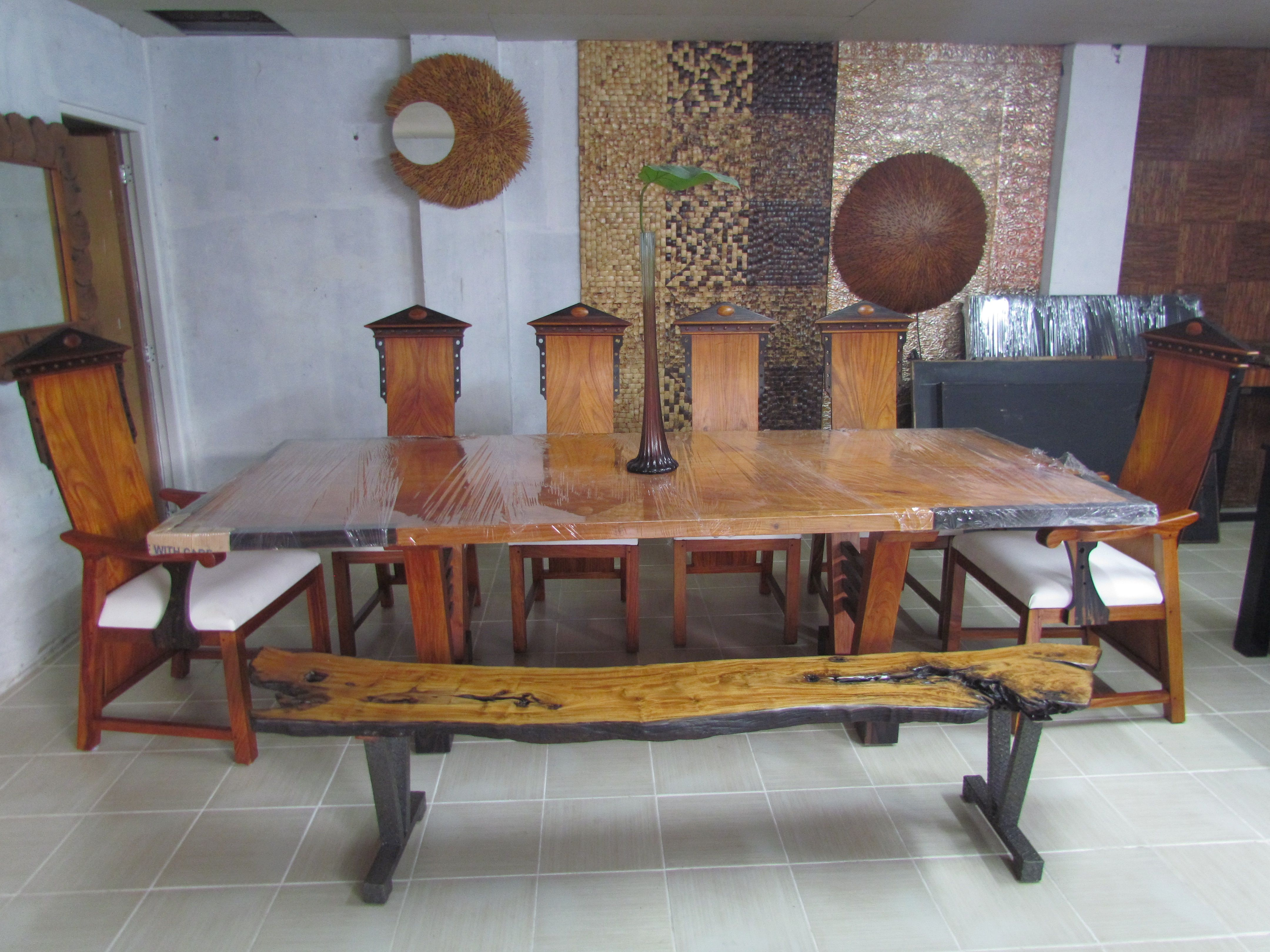 Dining Chairs Philippines Dining Table For 10 Made From Narra And Kamagong Wood