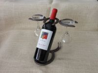 Horseshoe Wine Bottle Holder Horseshoe Wine Rack by ...