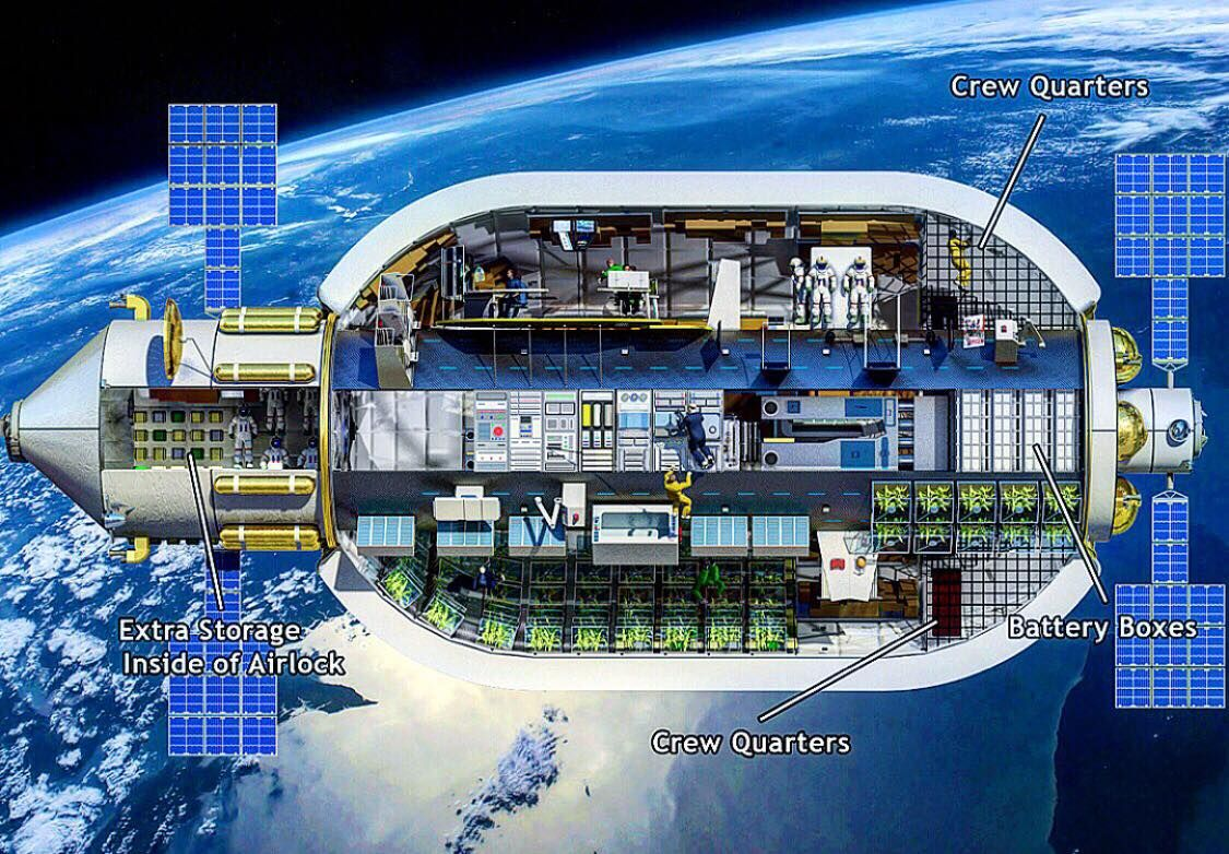 Interior Design Reddit Spaceexp Interior Of The Olympus B 2100 Habitat As