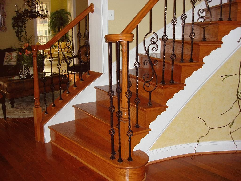 Wood Stair Railings Interior Teak Wood Handrails Teak