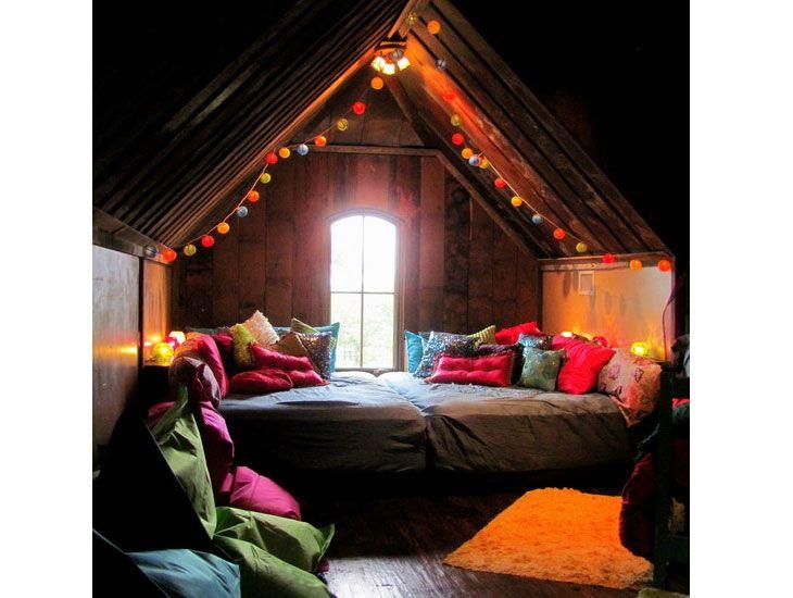 24 Gorgeous DIYs For Your Teenage Girlu0027s Bedroom Attic, Oasis - diy teen bedroom ideas