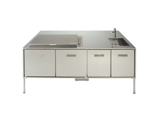 Designer Kücheninsel - dezent und praktisch - #Küche - moderne modulare kuche komfort
