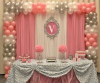 Princess Baby Shower Party Ideas | Party backdrops ...