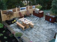 landscape design with picnic table - Google Search ...