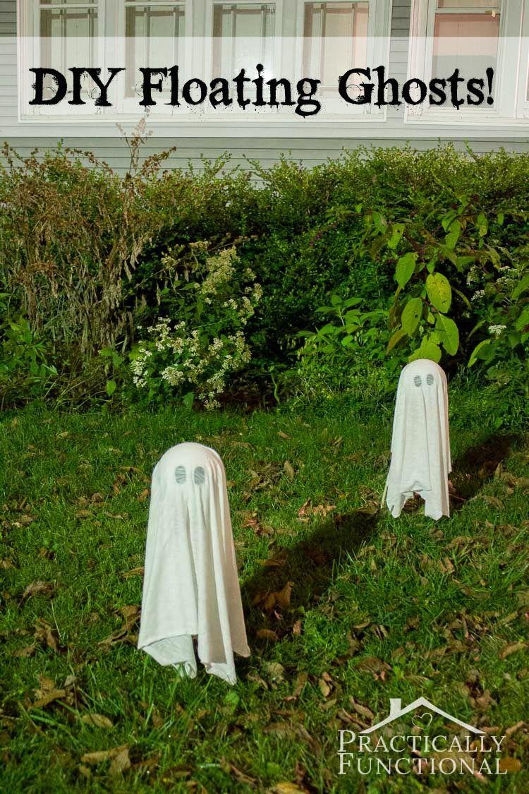 13 spooky halloween yard decor ideas diy ghost decorationdiy