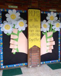 Mother's Day! | Door decoration | Pinterest | Bulletin ...