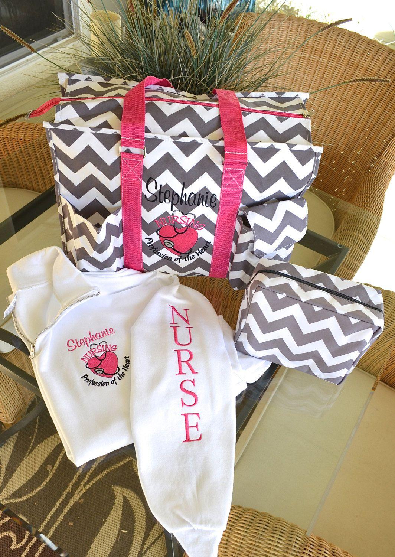 monogrammed nurse gifts