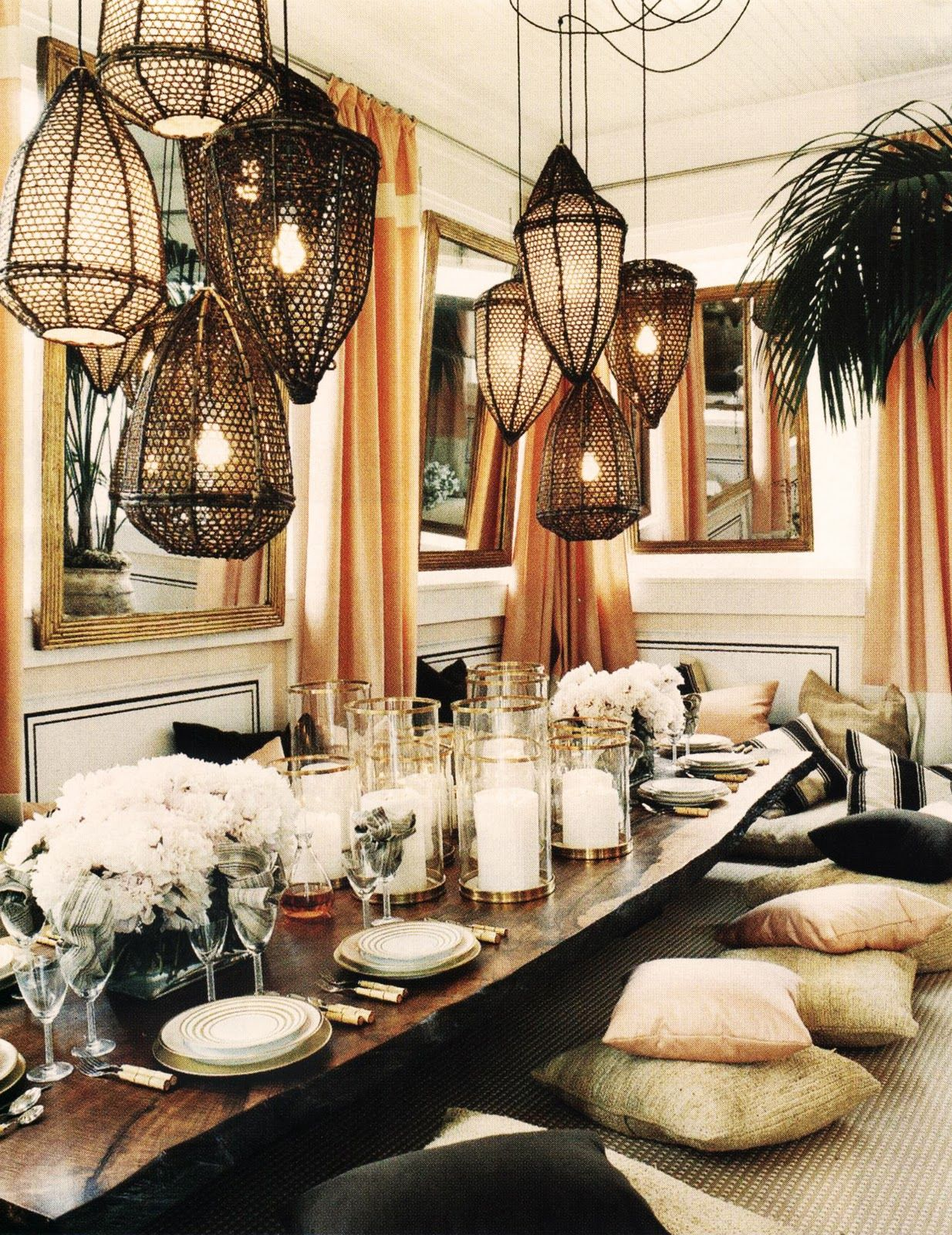 Glamour Home Decor Trend Spotting Modern Glamourous Luxury Interiors In