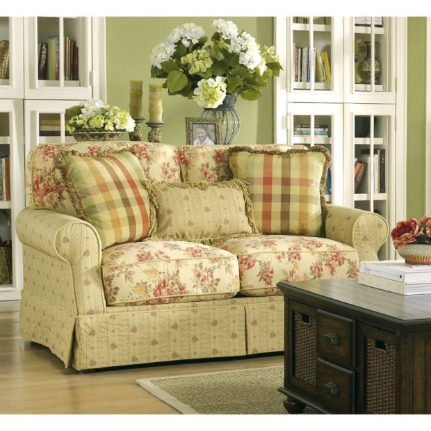 ella - spice loveseat 6800135 country cottage furniture