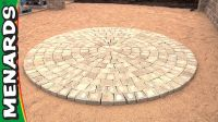Circular Patio Kit - How To - Menards | backyard ideas ...