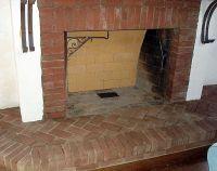 brick hearths - Google Search | fireplace surround ...