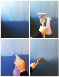The Way of the Ombre | Blue ombre, Ombre and Walls