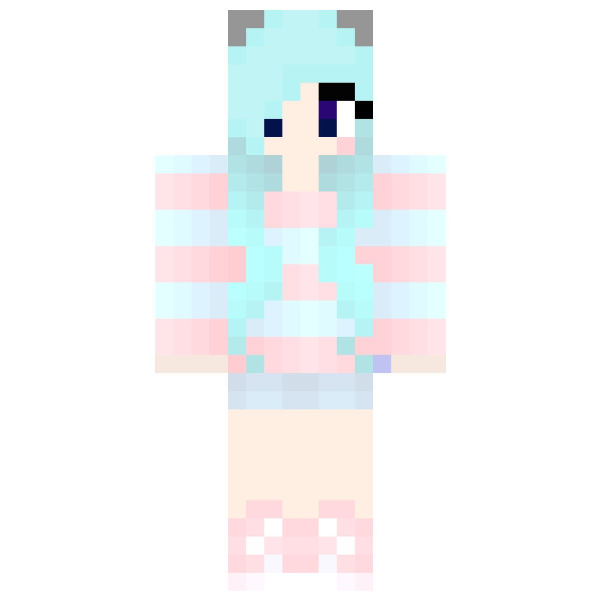 Pastel Minecraft Skins Related Keywords