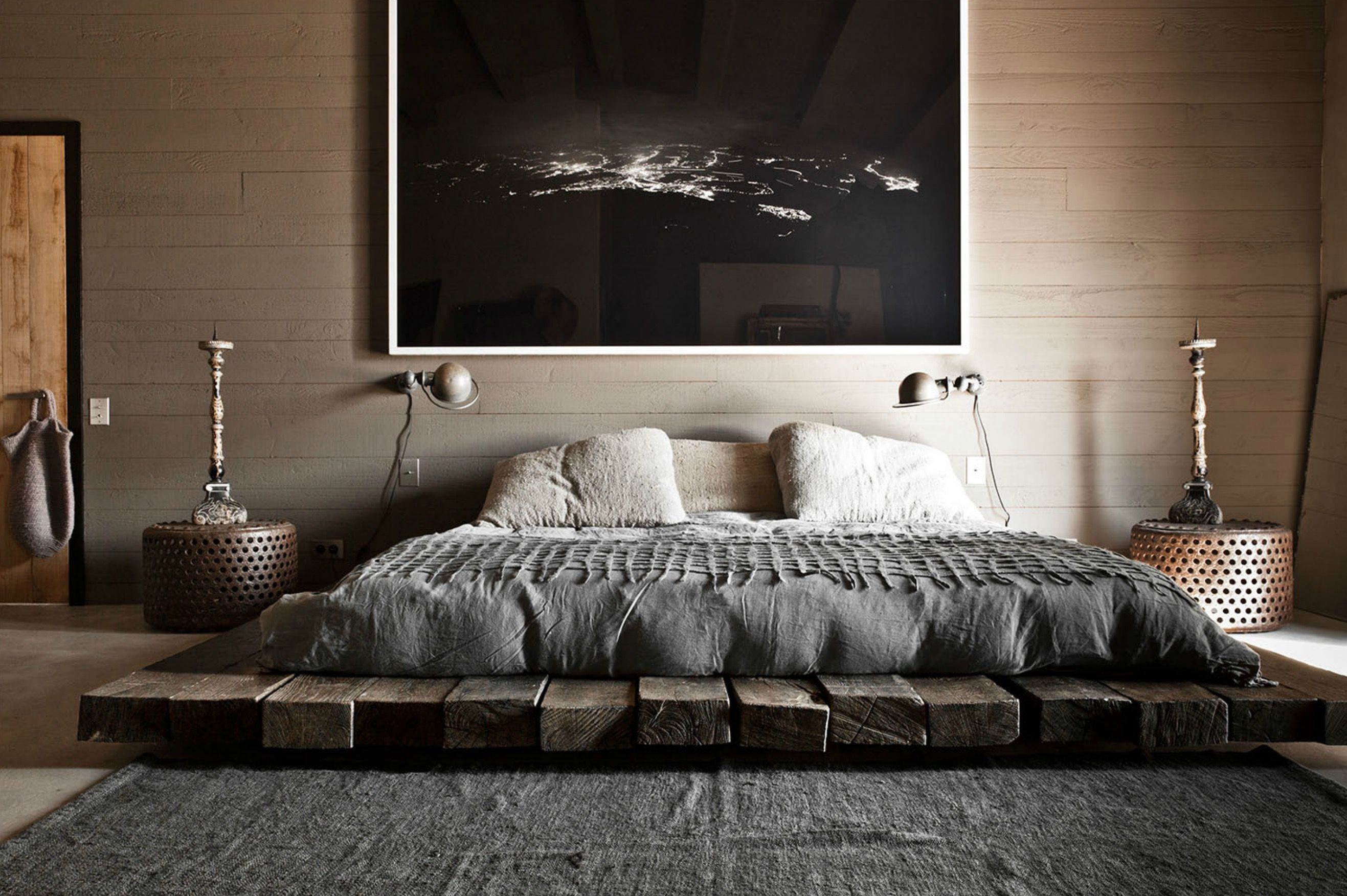 Bedroom Flooring Ideas Pinterest 40 Low Height And Floor Bed Designs That Will Make You