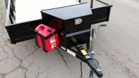 Echo Trailers extra large tongue box and five gallon gas ...