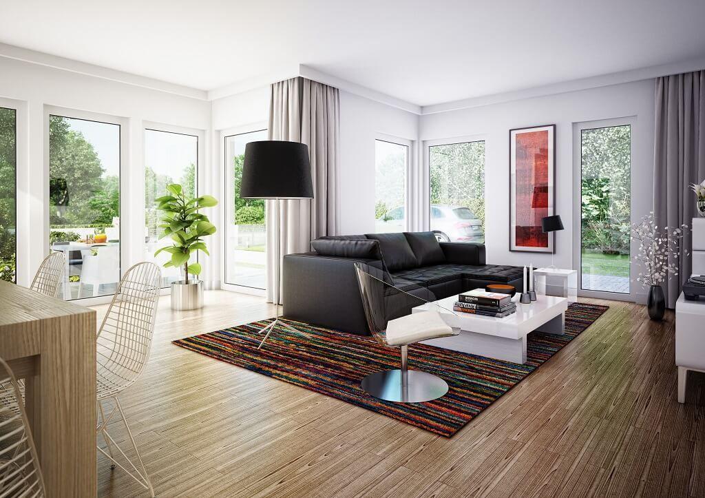 Inneneinrichtung WOHNZIMMER modern * Haus Edition 1 V7 Bien Zenker - inneneinrichtung wohnzimmer modern