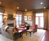 rooms with colored ceilings | Designing From the Top Down ...