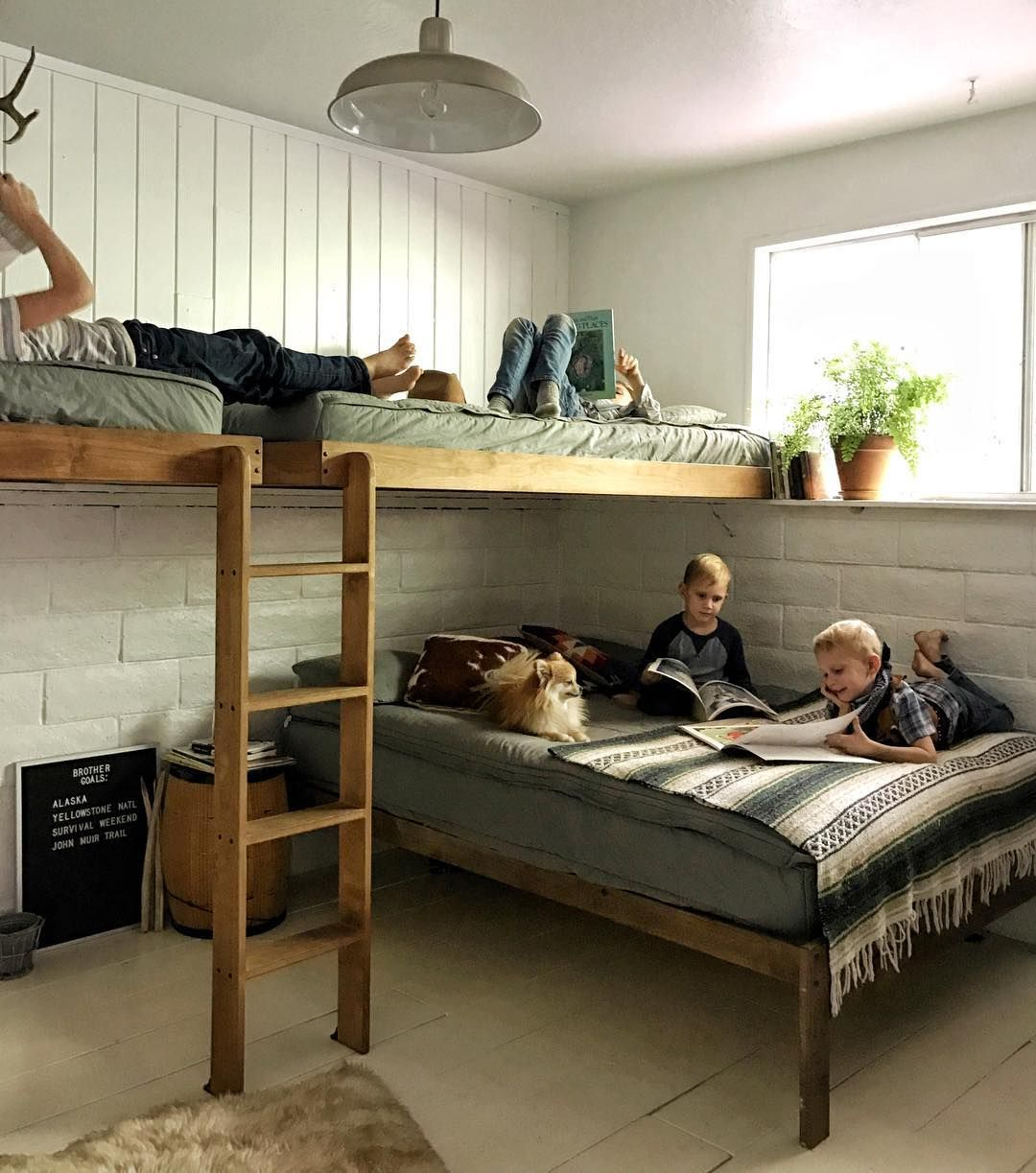 Bunk Bed Bedroom Ideas To God Be The Glory Nor Ca Livin 39 Family Of Seven