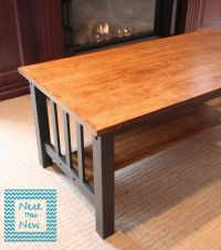 mission-style-coffee-table-makeover | Painted Furniture ...