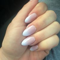French Oval Nails | www.pixshark.com - Images Galleries ...