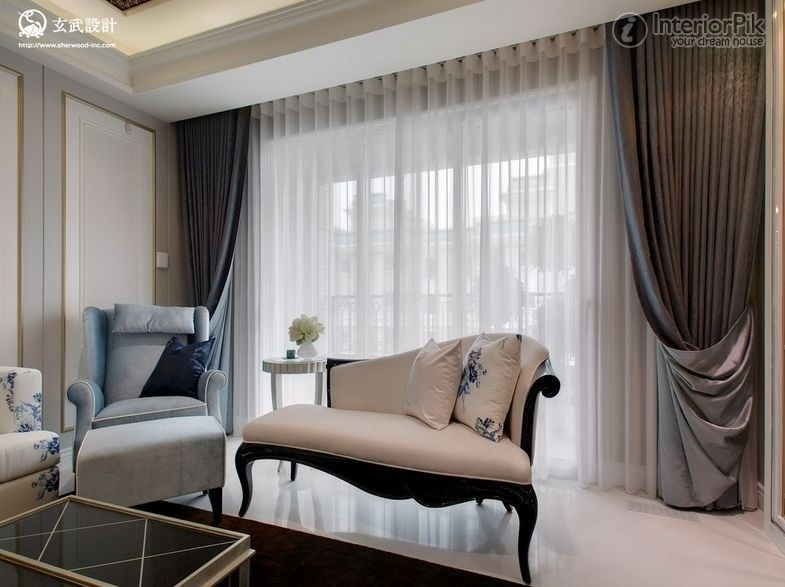 modern living room curtains 2014 : Beautiful Modern Living
