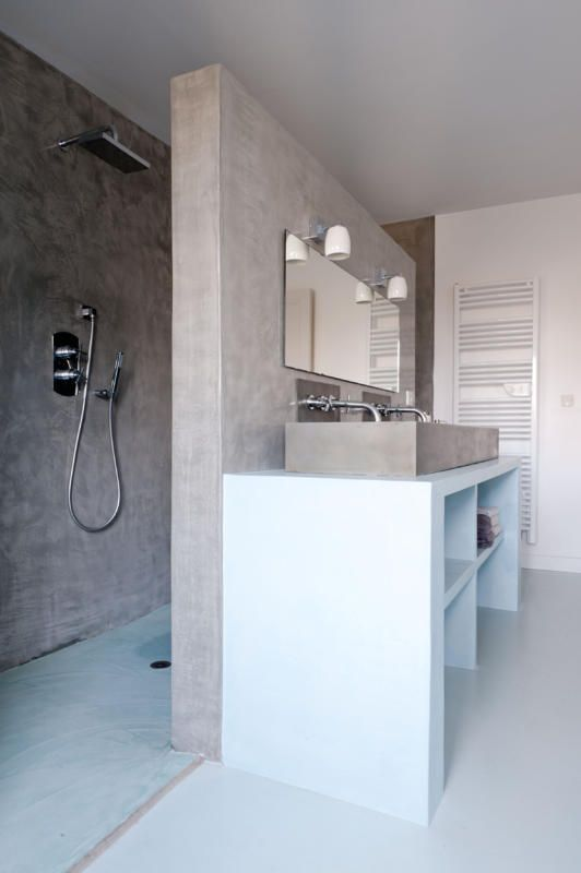 Badezimmer T Form Hausbillybullock   Kuche Mit Kochinsel Trendigen Design  Pedini