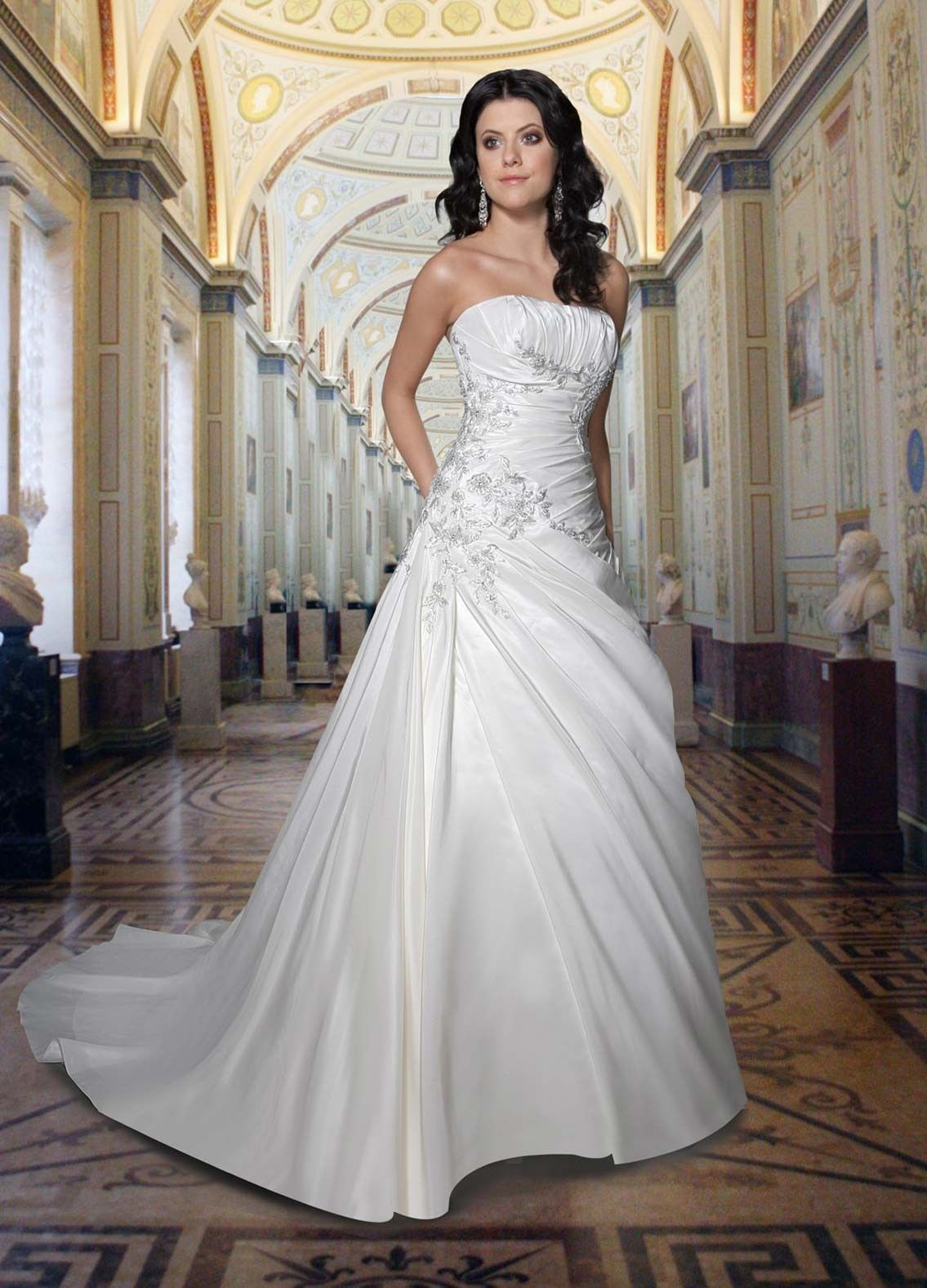 wedding dress photos perfect wedding dress 7 sexy strapless wedding dresses for your classic
