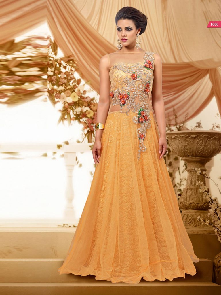 discounted wedding dresses Long dress indian style 67