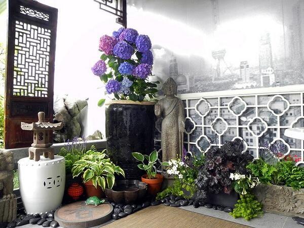 Van Chinese Garden on Chinese garden, Balconies and Gardens - chinese garden design