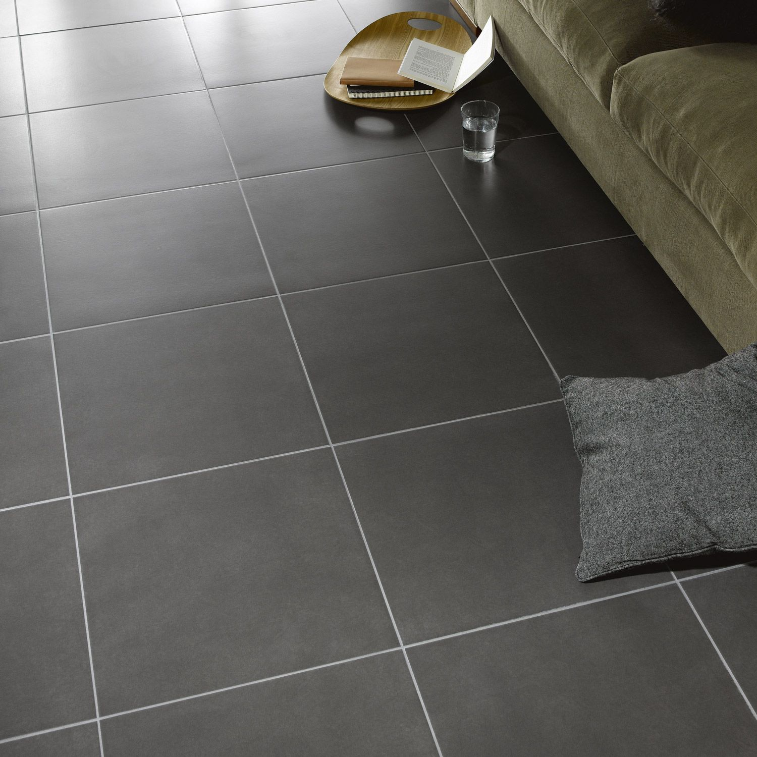 Carrelage Gris Anthracite Salissant Carrelage Sol Gris Magasin Guerande Bricolage With