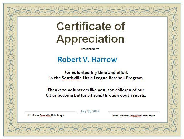 Blank certificate award Preschool Pinterest Blank - first place award template