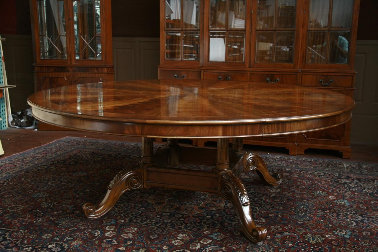 Large Dining Tables To Seat 12 Large Round Dining Table Seats 12 Large Round Dining