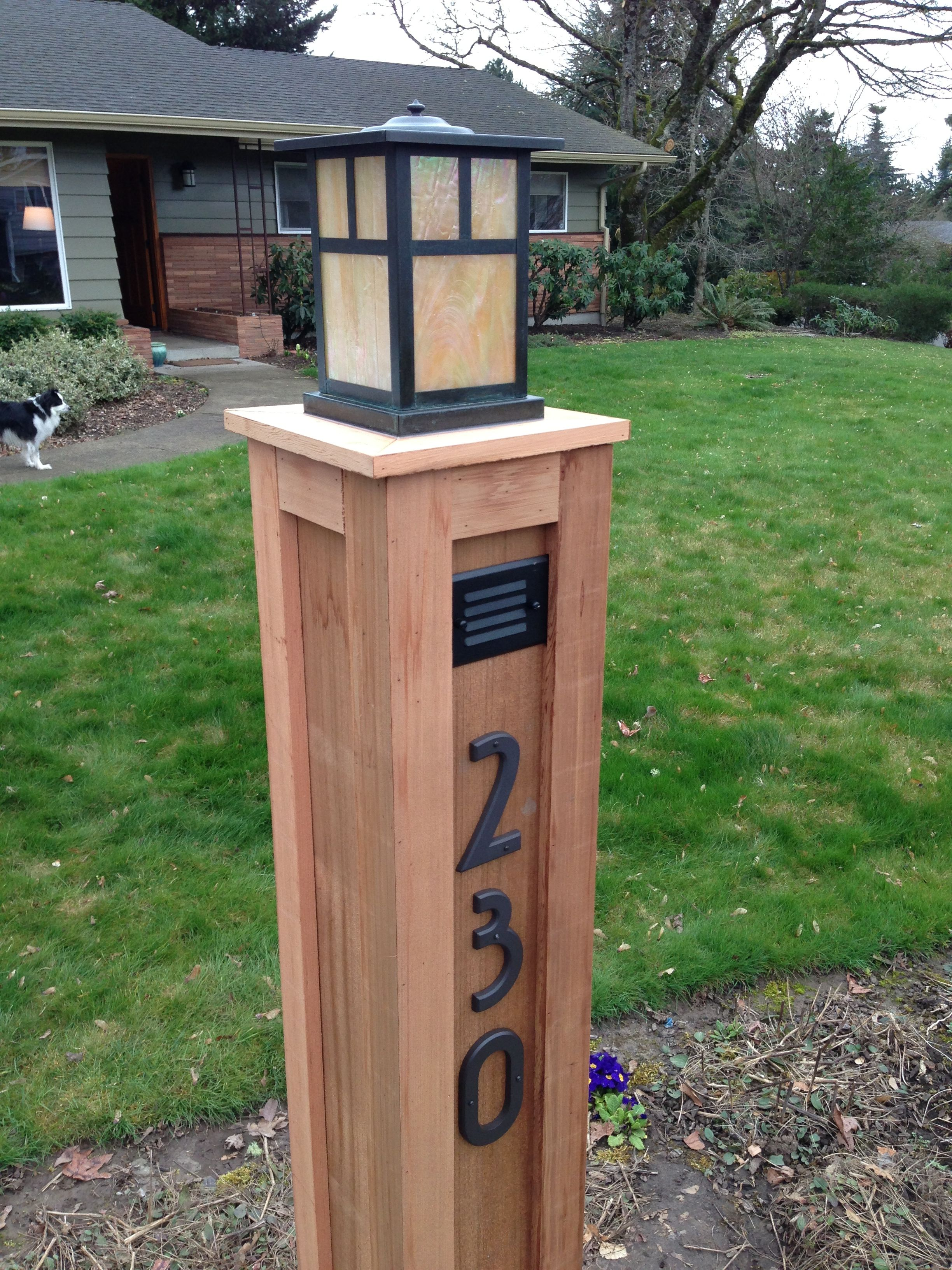 Wooden Light Post Designs Light Posts On Pinterest Stone Mailbox Lamp Post Ideas