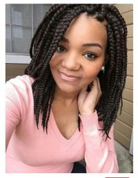 Shoulder length box braids | Box braids | Pinterest ...