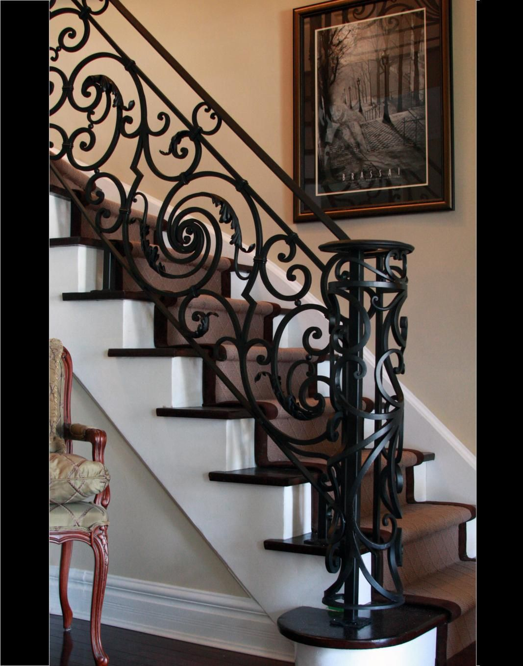 Wrought Iron Staircase Designs Generous Custom Interior Wrought Iron Stairways Toronto