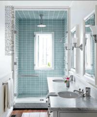 5 tips for small bathrooms | Narrow bathroom, Glass doors ...