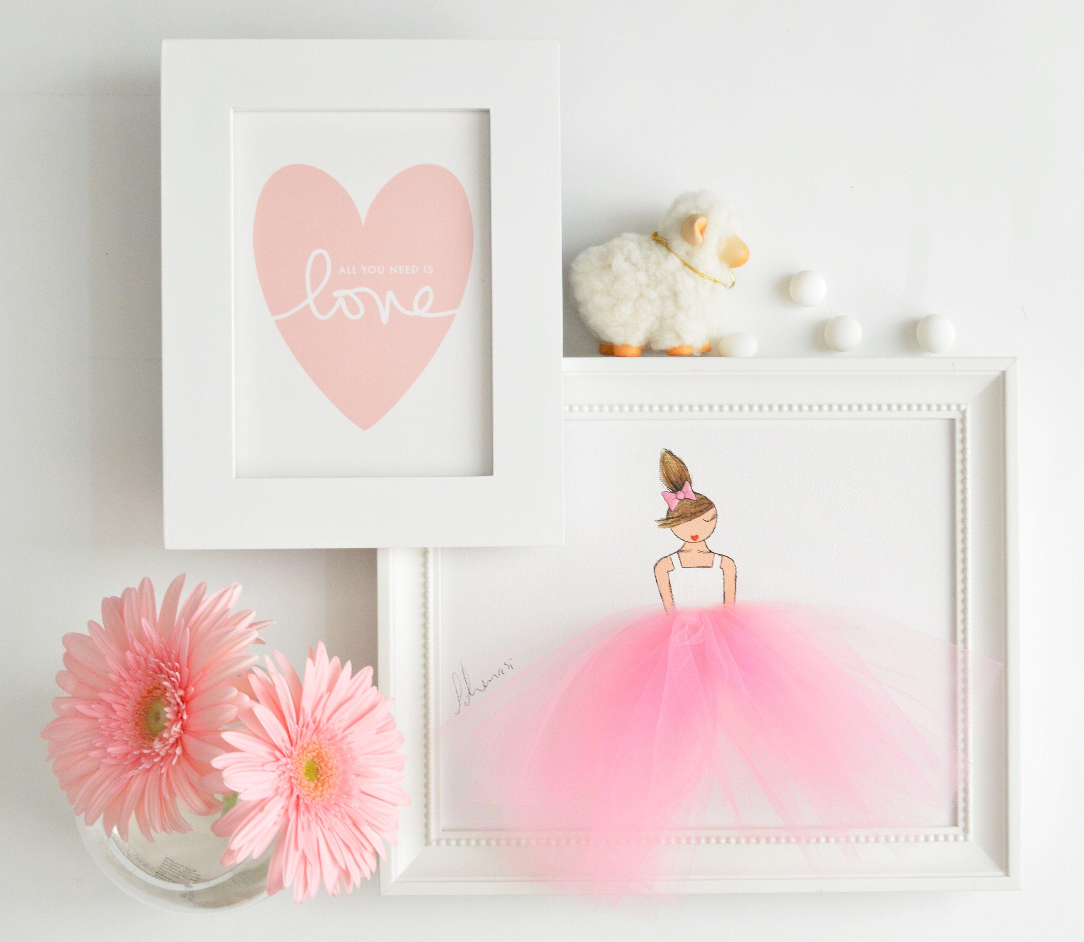 Ballerina Themed Bedroom