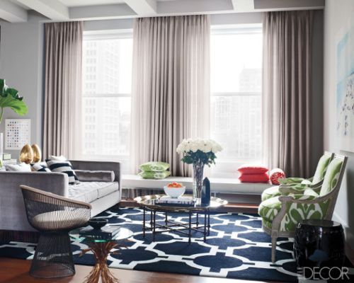 Lots of great ideas for our living room to go with the gray couch - gray couch living room