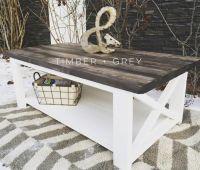 Rustic Coffee Table | Ana White | DIY Coffee Table ...