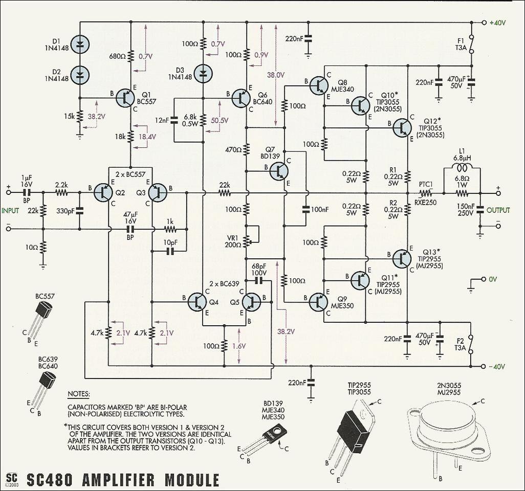 power supply circuit schematic diagram power amplifier pinterest