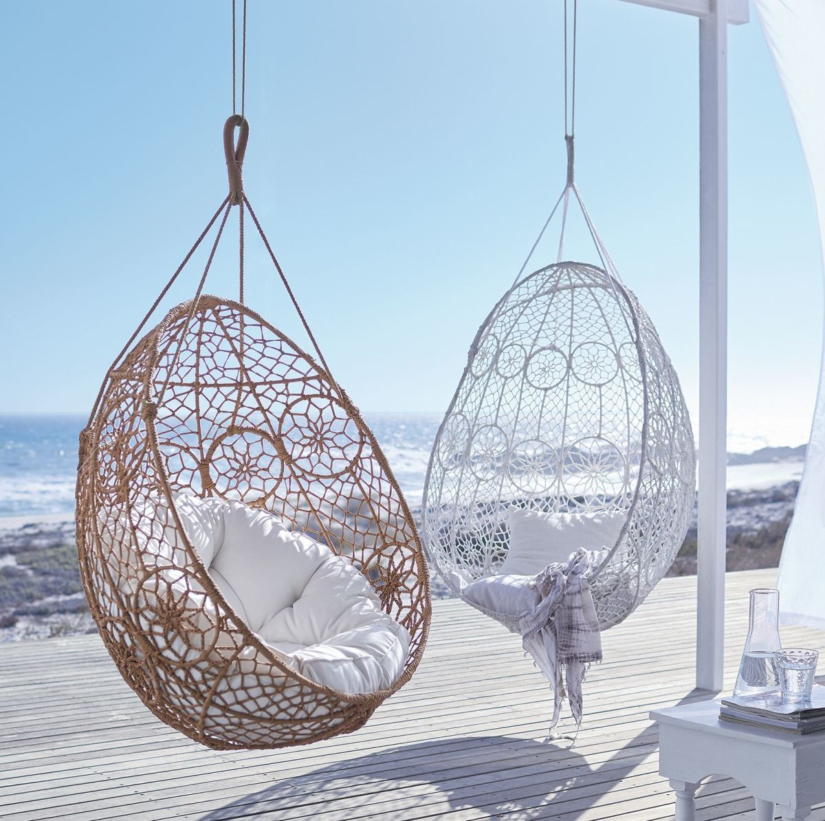 Hängesessel Metall Hanging Chair Boho Hängesessel Outdoorgeeignet Metall