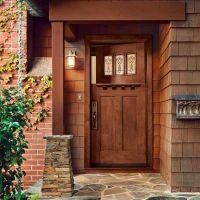 All About Fiberglass Entry Doors | Entrance doors, Wood ...